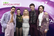(L-R) Avan Jogia, Roxane Mesquida, Kelli Berglund, Beau Mirchoff and Tyler Posey attend the 'Now Apocalypse' Los Angeles Premiere at Hollywood Palladium on February 27, 2019 in Los Angeles, California.