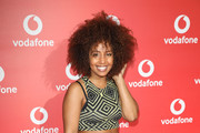Jade Avia attends the Vodafone Passes Launch held at The Bankside Vaults on November 1, 2017 in London, England.