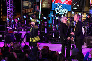 Debbie Harry of Blondie performs on stage ahead of midnight at The New Year's Eve 2014 Celebration in Times Square on December 31, 2013 in New York City.