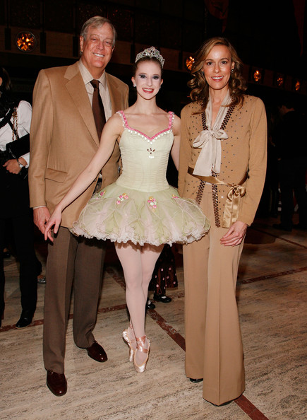 Julia Koch (L-R) David Koch, NYCB Sterling Hyltin and Julia Koch attend the New York City Ballet & the School of American Ballet's The Nutcracker family benefit at the David H. Koch Theater, Lincoln Center on December 5, 2009 in New York City.