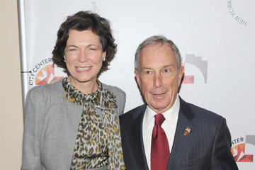 Michael Bloomberg Diana Taylor New York City Center Reopening - Ribbon Cutting & Performance