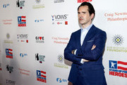 Jimmy Carr attends The New York Comedy Festival and The Bob Woodruff Foundation present the 12th Annual Stand Up For Heroes event at The Hulu Theater at Madison Square Garden on November 5, 2018 in New York City.