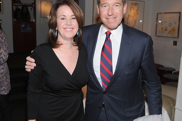 Brian Williams New York Giants Super Bowl Pep Rally Luncheon