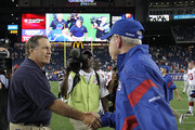 Tom Coughlin and Bill Belichick Photos Photo