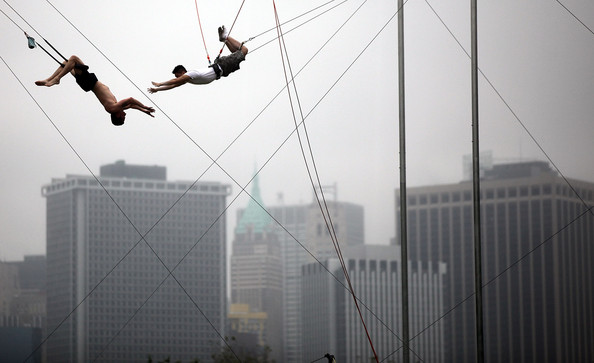 Hot New Workout Trend: Trapeze