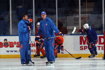 Eric Cairns New York Islanders Evaluation Camp