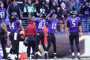 Joe Flacco and Torrey Smith Photos Photo