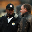 Kevin Colbert New York Jets v Pittsburgh Steelers