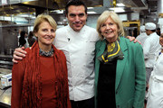 (L-R) Founder and CEO of The French Culinary Institute Dorothy Hamilton, Chef Todd English and New York magazine Culinary Editor Gillian Duffy pose during the New York Culinary Experience hosted by New York magazine and The French Culinary Institute at The French Culinary Institute on October 3, 2010 in New York City.