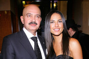 """Producer Rakesh Roshan and actress Barbara Mori attend the New York Premiere of """"Kites"""" after party at the Bryant Park Grill on May 16, 2010 in New York City."""