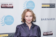 """Actress Amy Ryan attends the """"Lost Girls"""" New York premiere during The Athena Film Festival at The Diana Center at Barnard College on February 29, 2020 in New York City."""