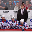 Alain Vigneault and Boo Nieves