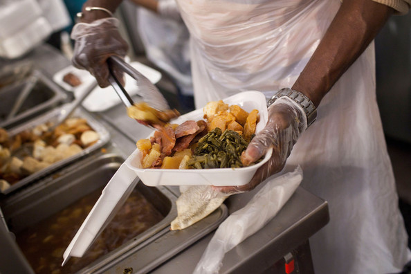 New York Soup Kitchen Serves Meals To City's Needy During The Holidays