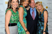 (L-R) Natalie Morales, President and CEO of NBC Universal Jeff Zucker, Hoda Kotb and Kathie Lee Gifford  pose for photos at the 2010 Matrix Awards presented by New York Women in Communications at The Waldorf Astoria on April 19, 2010 in New York City.