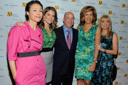 (L-R) Ann Curry, Natalie Morales, President and CEO of NBC Universal Jeff Zucker, Hoda Kotb and Kathie Lee Gifford  pose for photos at the 2010 Matrix Awards presented by New York Women in Communications at The Waldorf Astoria on April 19, 2010 in New York City.