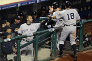 Johnny Damon and Mark Teixeira Photos Photo