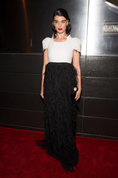 Crystal Renn attends the New Yorkers For Children's 11th Anniversary A Fool's Fete Spring Dance at the Mandarin Oriental Hotel on April 21, 2014 in New York City.