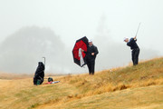 Ben Wallace of Auckland fails to play out of heavy rough on the 18th hole during the New Zealand Men's Interprovincial Semi-Final at Paraparaumu Beach Golf Club on December 11, 2010 in Paraparaumu, New Zealand.