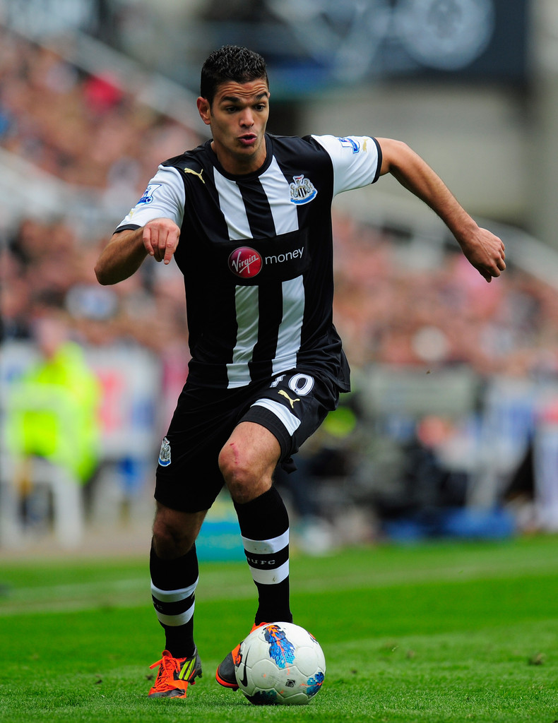 Hatem Ben Arfa s s Newcastle United v Manchester City