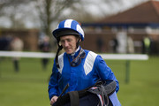 Paul Hanagan at Newmarket racecourse on April 19, 2012 in Newmarket, England.