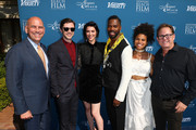 (L-R) Gregg Schwenk, CEO & Executive Director, Newport Beach Film Festival, Topher Grace, Mary Elizabeth Winstead, Colman Domingo, Zazie Beetz and Todd Quartararo attend the Newport Beach Film Festival Fall Honors and Variety's 10 Actors To Watch at The Resort at Pelican Hill on November 11, 2018 in Newport Beach, California.