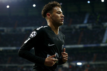Neymar Real Madrid v Paris Saint-Germain - UEFA Champions League Round of 16: First Leg