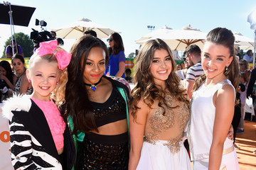 Nia Frazier Nickelodeon's 28th Annual Kids' Choice Awards - Red Carpet