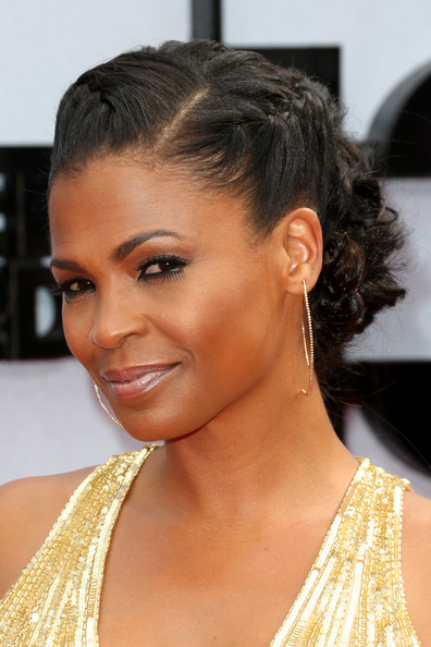 Nia Long Actress Nia Long (fashion detail) attends the 2013 BET Awards ...