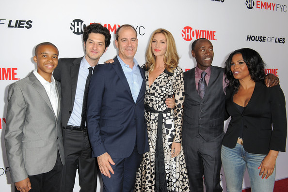 Arrivals at the 'House of Lies' Panel Discussion