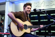 Niall Horan performs on SiriusXM Hits 1 at the SiriusXM Studios in New York City on October 08, 2019 in New York City.