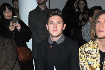 Niall Horan Celebrities & Front Row - Day 2 - LFW Men's January 2017