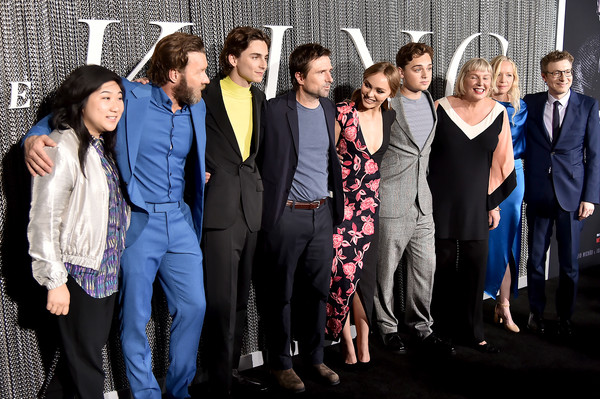 'The King' New York Premiere [the king,social group,people,event,team,youth,community,fashion,suit,white-collar worker,photography,timothee chalamet,joel edgerton,dean,charles chapman,david michod,nicholas britell,lily-rose deep,new york,premiere]