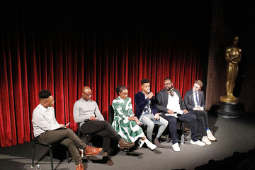 Nicholas Britell Stephan James The Academy Of Motion Picture Arts And Sciences Hosts An Official Screening Of 'If Beale Street Could Talk'