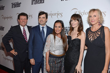 """Nicholas D. Kristof Conde Nast Traveler Celebrates """"The Visionaries"""" And 25 Years Of Truth In Travel - Red Carpet"""