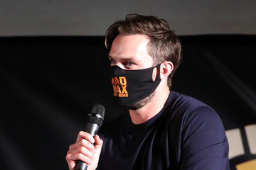 """Nicholas Hoult Charlize Theron Hosts Drive-In Screening Of """"Mad Max: Fury Road"""" Benefiting The Charlize Theron Africa Outreach Project"""