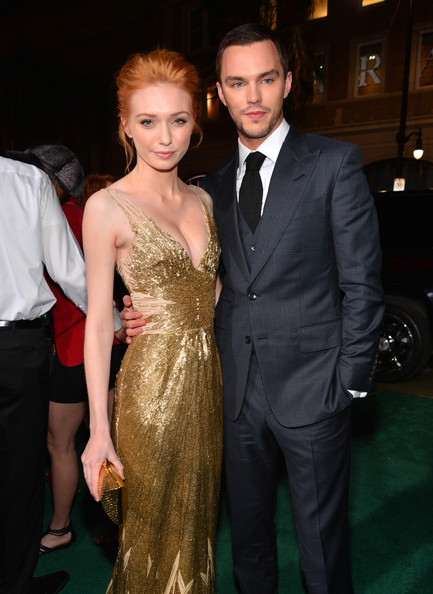 """Premiere Of New Line Cinema's """"Jack The Giant Slayer"""" - Red Carpet [jack the giant slayer,dress,suit,hairstyle,carpet,formal wear,fashion,premiere,event,flooring,haute couture,red carpet,eleanor tomlinson,nicholas hoult,tcl chinese theatre,california,new line cinema,l,premiere,premiere]"""
