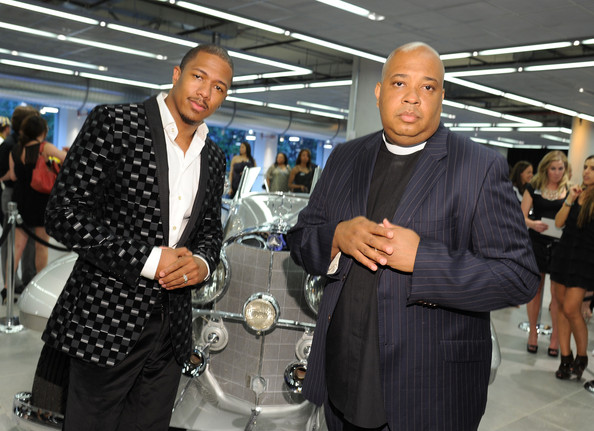 The Gala Opening Of The New Mercedes-Benz Manhattan [event,fashion,suit,businessperson,white-collar worker,job,nick cannon,rev run,merceses-benz manhattan,new york city,mercedes-benz manhattan,mercedes-benz,gala opening,gala opening]