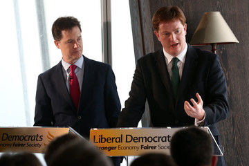 Nick Clegg Danny Alexander LibDems Set Out Fiscal Plans Ahead of Election