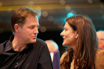 Nick Clegg Miriam Gonzalez Durantez Liberal Democrats Annual Party Conference: Day 3