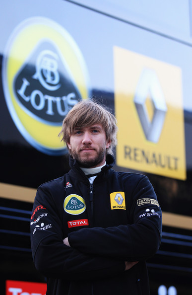 Nick Heidfeld Nick Heidfeld of Germany prepares to test for the Renault team as a possible replacement for the injured Robert Kubica during day three of winter testing at the Circuito de Jerez on February 12, 2011 in Jerez de la Frontera, Spain.