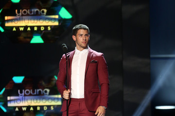 Nick Jonas Young Hollywood Awards Show