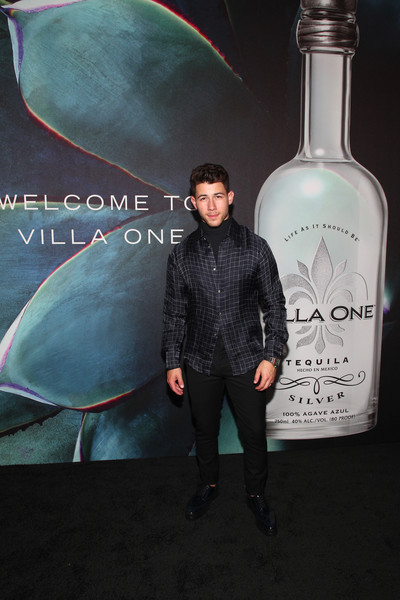 John Varvatos Villa One Tequila Launch Party [liqueur,drink,distilled beverage,glass bottle,alcohol,bottle,vodka,photography,john varvatos,nick jonas,new york city,john varvatos bowery,launch party,john varvatos villa one tequila launch party]