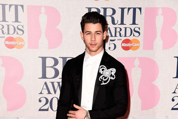 Nick Jonas Arrivals at the BRIT Awards