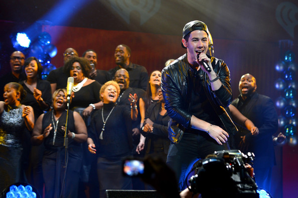 Y100's Jingle Ball Show [performance,music,performing arts,entertainment,music artist,event,musician,song,concert,singing,nick jonas,miami,fl,bb t center,y100,jingle ball 2014 - show]