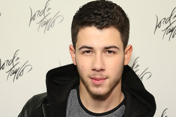 Nick Jonas Lord & Taylor Holiday Window Unveiling