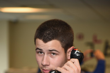Nick Jonas Annual Charity Day Hosted By Cantor Fitzgerald And BGC - BGC Office - Inside