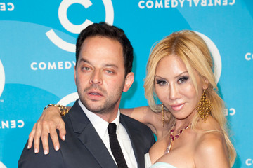 Nick Kroll Tess Broussard 2012 Primetime Emmy Awards Comedy Central Party