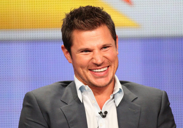 Nick Lachey Host Nick Lachey  speaks during 'The Sing-Off' panel during the NBC Universal portion of the 2011 Summer TCA Tour held at the Beverly Hilton Hotel on August 1, 2011 in Beverly Hills, California.