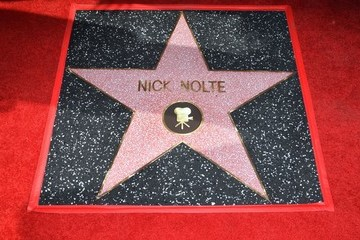 Nick Nolte Nick Nolte Honored With Star on the Hollywood Walk of Fame