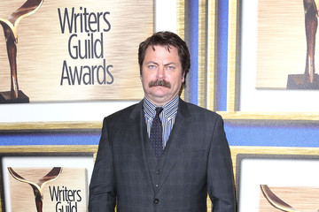 Nick Offerman 2014 Writers Guild Awards L.A. Ceremony - Arrivals